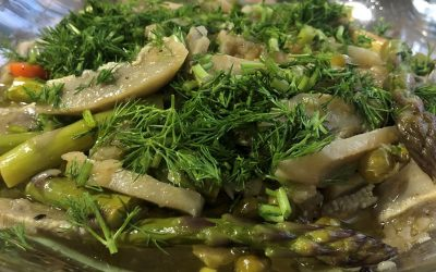 Mutfağımdan | Zeytinyağlı Enginarlı Kuşkonmaz (4 kişilik)